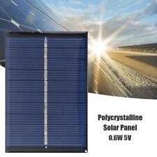 0.6W 5V 120mA Solar Cell Module Polycrystalline Solar Panel DIY Charger USA
