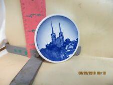Royal Copenhagen Mini-Plate 22-2010 Roskilde Domkirke - 3 1/4 Inch Diameter