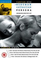 Persona DVD Bibi Andersson Liv Ullmann Ingmar Bergman Original UK Version NEU R2