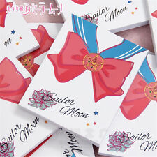 Anime Sailor Moon Crystal Notebook Bowknot Sailor Suit Cartoon Diary Journal Hot