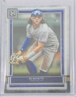BO BICHETTE 2020 TOPPS MUSEUM COLLECTION ROOKIE CARD #36 TORONTO BLUE JAYS MLB