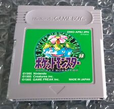 Pocket Monsters Midori Pokemon Green Nintendo Game Boy Japanese