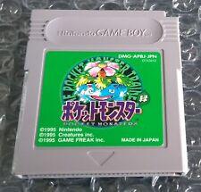 Pocket Monsters Midori Pokemon Green Nintendo Game Boy japonais