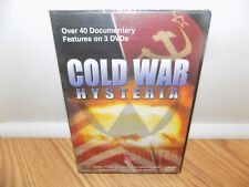Cold War Hysteria (DVD, 2008, 3-Disc Set) Over 40 Documentary Features - NEW