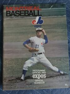 1969 Montreal Expos Yearbook First Year Yearbook