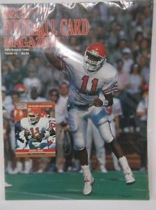 Beckett Football Card Magazine July August 1990 Issue #5 ANDRE WARE Cover