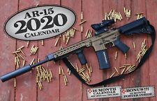 2020 AR-15 DELUXE WALL CALENDAR