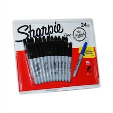 Sharpie Black Permanent Markers - 24 Pack (448649)