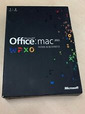 Microsoft Office Mac 2011 Home & Business - Full UK Retail Box