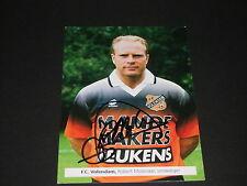 signed Robert Molenaar Leeds United,Bradford City, F.C.Volendam club card