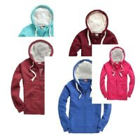 Cotton Ridge Premium Super Soft Peach Finish Adult Zip Hoodie Various Colours