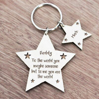 Personalised Christmas Gifts For Daddy Grandad Mummy Nanny Grandma Keyring Gifts