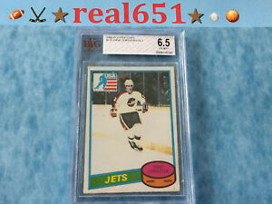 1980 O-Pee-Chee #176 DAVE CHRISTIAN Rookie | Jets | Miracle on Ice | BVG 6.5 EM+
