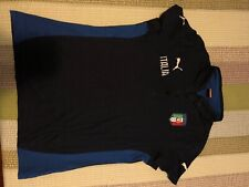 Italy national soccer team shirt. Puma, polo style,  size M women's, NEW