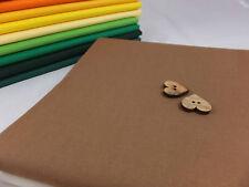 100% Cotton Fabric Sheeting Plain Solid Colours per metre