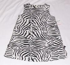 NEW GYMBOREE ZEBRA PRINT JUMPER DRESS-2T GIRL-BLACK+WHITE PARTY FANCY JUMPER MOD