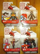 Disney Big Hero 6 Figure SET STEALTH SUIT VARIANTS BAYMAX HONEY LEMON FRED HIRO