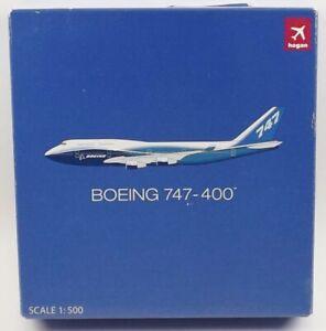 Hogan HG8416 Boeing Aircraft Company 747-400 1/500 Scale Diecast Model