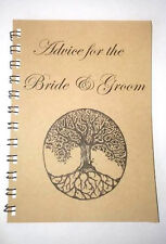 Wedding Advice Blank Journal - Tree of Life design 6 x 8 with lined pages
