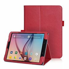 COVER BOOK Per SAMSUNG GALAXY TAB S3 T820 T825 CUSTODIA SMART MAGNETICA ROSSO