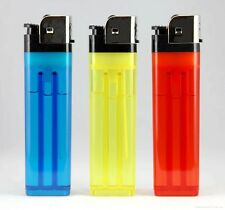 3 Disposable Cigarette Lighters Regular Size Classic Style