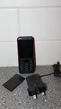 Nokia 5310 2.4 pollici 8 MB UK SIM-Free 2G funzione telefono (Dual Sim) - Nero/Rosso