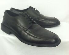 Nunn Bush Mens Dress Shoes Oxford Black Loafer 10 M Comfort Gel Laces