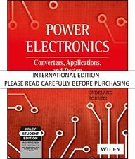Power Electronics: Converters, Applications, and Design, 3rd ed. (With CD ROM) b