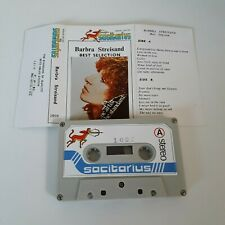 BARBARA STREISAND BEST SELECTION CASSETTE TAPE UNOFFICIAL RELEASE SAGITTARIUS