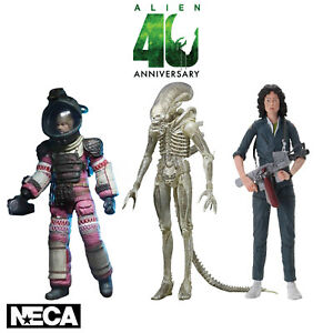 NECA Aliens 40th Anniversary Series 1 Action Figure New Ripley Dallas Big Chap