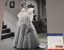 CLASSIC!!! Patty Duke Signed PATTY AND KATHY LANE 8x10 Photo #3 PSA/DNA