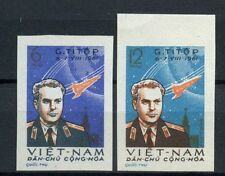 North Vietnam 1961 SG#N185-6, 2nd Manned Space Flight Imperf MNH Set #A60312
