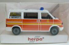 Feuerwehr BF Hamburg Süderelbe NEF Notarzt  / VW T4 / Herpa Sondermodell