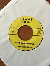 Northern Soul Records.Johnny Guitar Watson.Ain't Gonna Move.wait A Minute Baby.