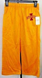Iowa State Cyclones Youth Sweatpants Track Pants Yellow NCAA S M L