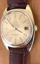 Men's 18K Omega Constellation Chronometer Day-Date Cal.564 Wristwatch, Circa 196