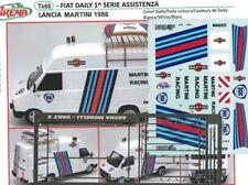 Transkit 1/43 FIAT DAILY ASSISTENZA LANCIA MARTINI 1986 Arena Tk068