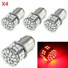 4Pcs Red 12V LED Lights 1157 BAY15D 50SMD 1206 Car Tail Stop Brake Lamp Bulbs US