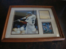 Ken Griffey Jr.--Color Lithograph--Framed & Matted--Kelly Russell Studios--#4704