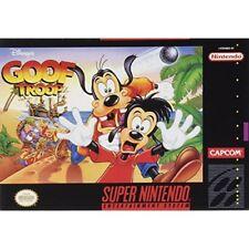 Disney's Goof Troop For Super Nintendo Snes