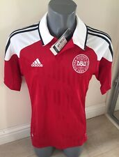 BRAND NEW WITH TAGS Denmark 2012-13 Mens Small Home Football SHIRT £54.99 New