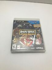 Angry Birds Star Wars Sony PlayStation 3 *Factory Sealed! *Free Shipping!