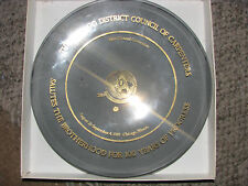 CHICAGO UNITED BROTHERHOOD OF CARPENTERS 34TH CONVENTION PLATE