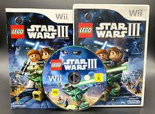 Spiel: LEGO STAR WARS III (3) THE CLONE WARS für Nintendo Wii + WiiU