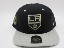Los Angeles Kings Gray Throwback '47 Brand NHL Snapback Hat Cap