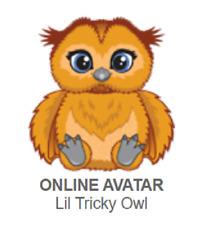 Webkinz Lil Tricky Owl *Code Only*