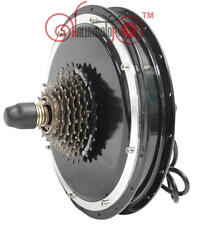 Risunmotor 48V 1500W Brushless Gearless Threaded Rear Hub Motor Electric Bike