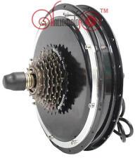 2015 Quiet 36/48V 1000W Thread in Rear Wheel Brushless Gearless Hub Motor Ebike