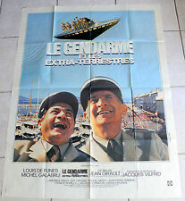 AFFICHE CINEMA ORIGINALE « Le gendarme et les extraterrestres » Film de 1979