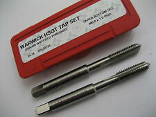 M6 x 1.0 HSS TAPER & BOTTOM HAND TAP SET OSBORN WARWICK G0120236 NEW BOXED  #R66